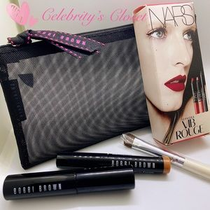 BN Bobbi Brown & NARS Goody Makeup Mesh Pouch